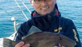2019.01.27出船 本日はうまづらはぎの遊漁でした。